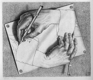 M.C. Escher: Drawing Hands