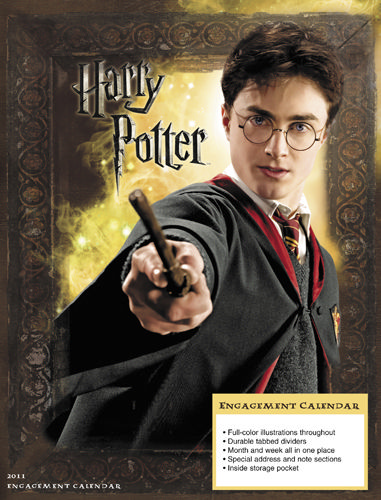 harry potter 2011 calendar april. Harry Potter Planner 2010,