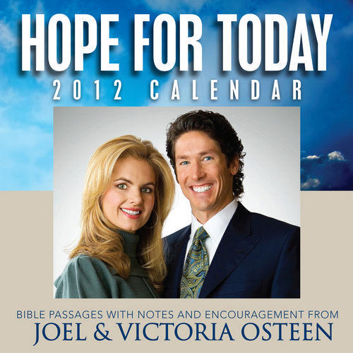 joel-osteen-motivation-desk-calendar-2012