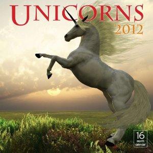 Unicorn calendars 2012