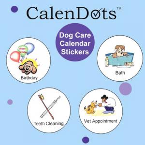 Alfa img - Showing > Dog Calendar Stickers Reminder