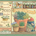 peaceful moments Lisa Blowers Wall Calendar 2010