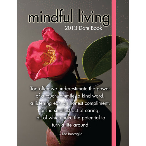 Mindfulness Planner agenda 2012, 2013