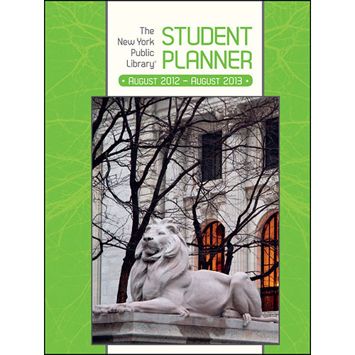 The New York Public Library Academic Planner 2012-2013