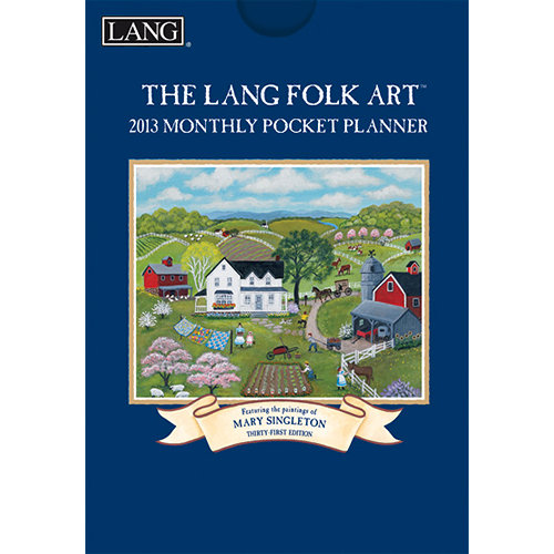 Mary Singleton Lang Folk Art Planners 2014