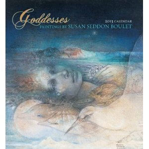 2012, 2013 Susan Seddon Boulet Fantasy Art Calendars and Planners