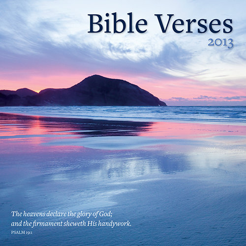Bible Scripture Verses Calendars 2014
