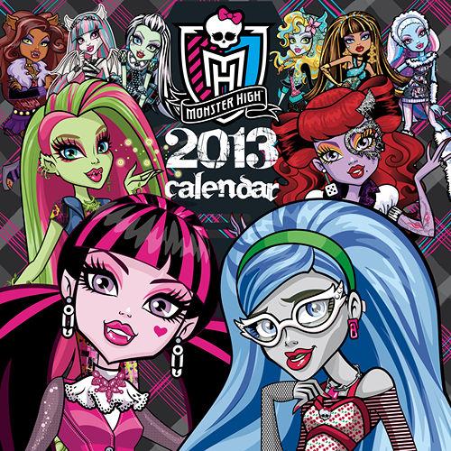 Monster High Calendar 2013