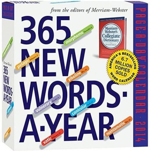 365 words a day - trivia desk calendar