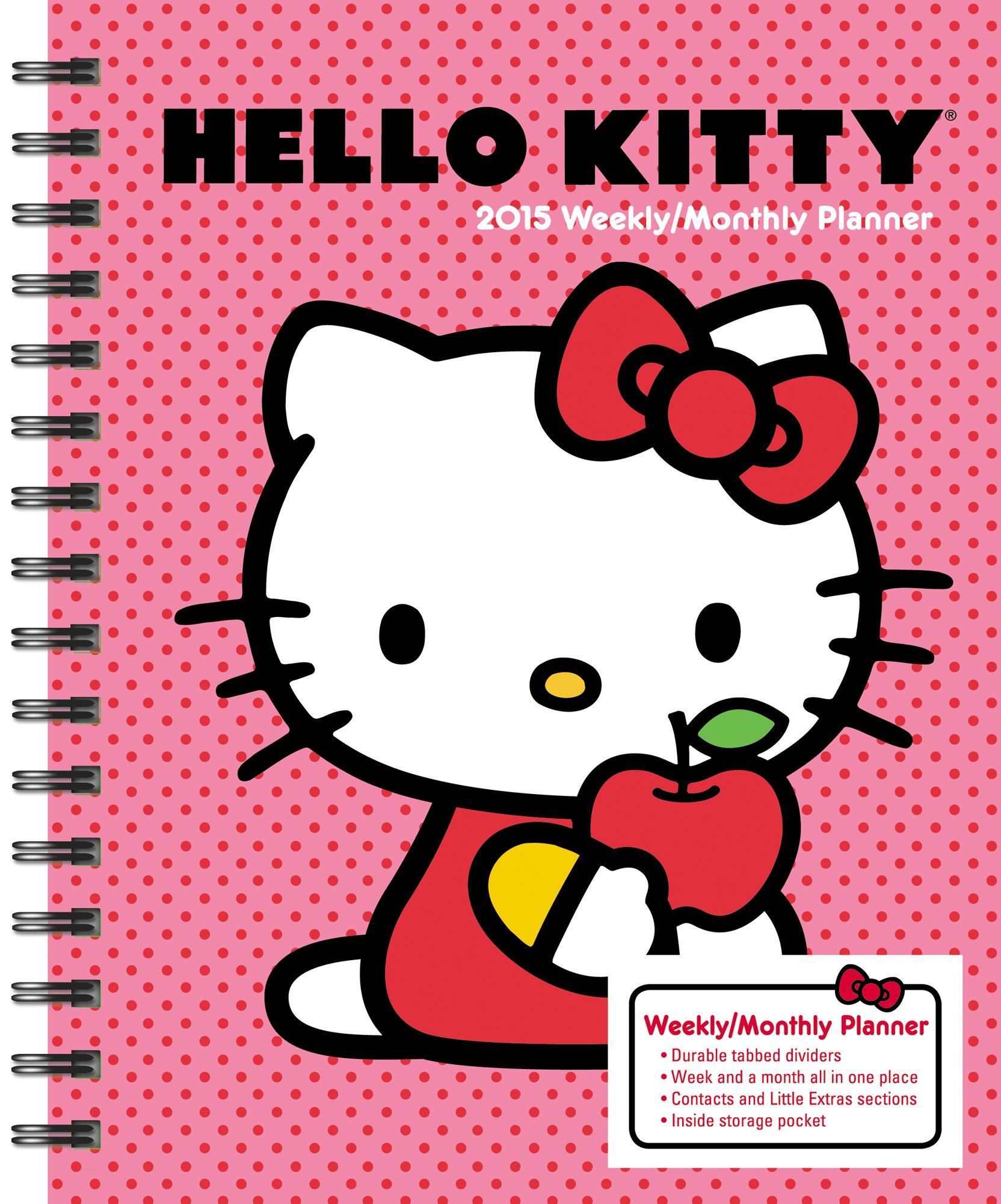 Hello Kitty Monthly Calendar : Hello kitty calendars and planners unique