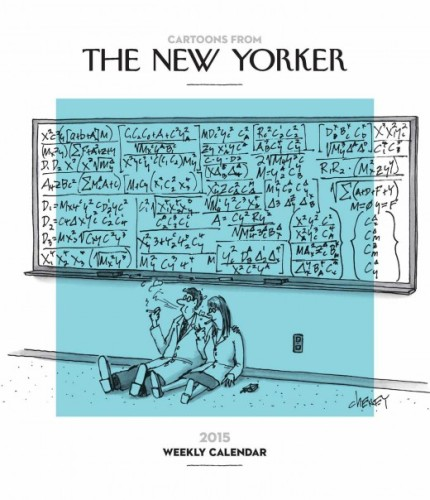 Cartoons from the New Yorker Weekly Planner Calendar (fair use).