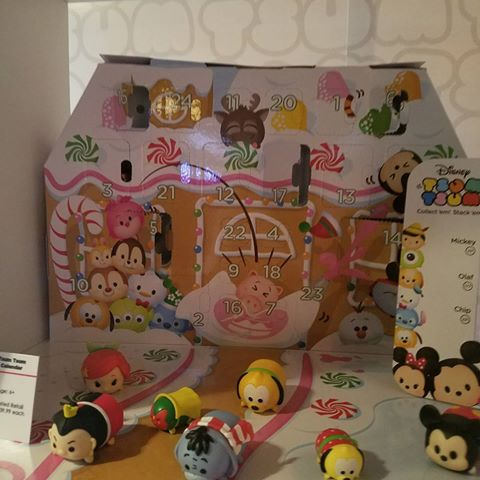 Disney Tsum Tsum Advent Calendar 2017
