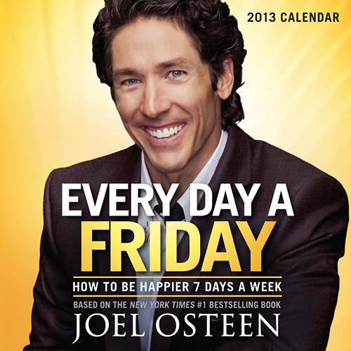 Joel Osteen motivational success desk calendars 2020-21