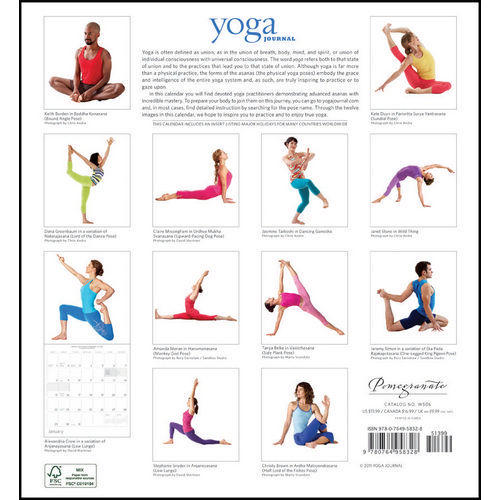 Yoga Planners and Calendars  2020-2021