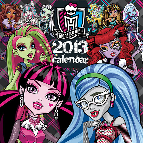Monster High Calendar  2020-2021