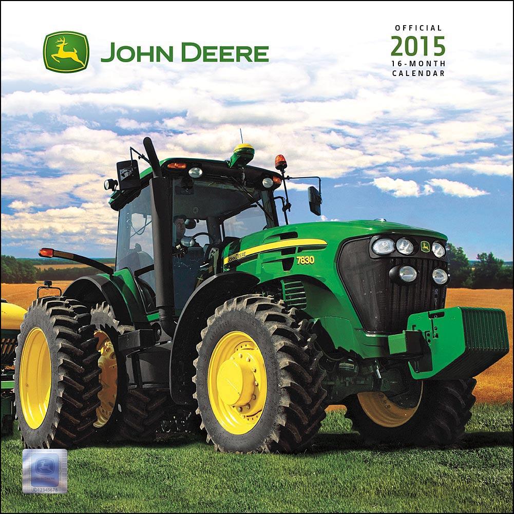 John Deere Calendar 2017