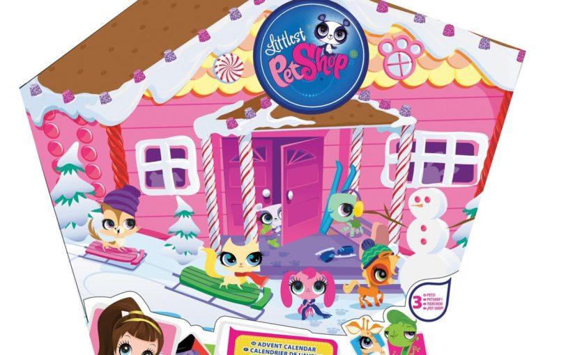 Littlest pet shop advent calendar 2020-21
